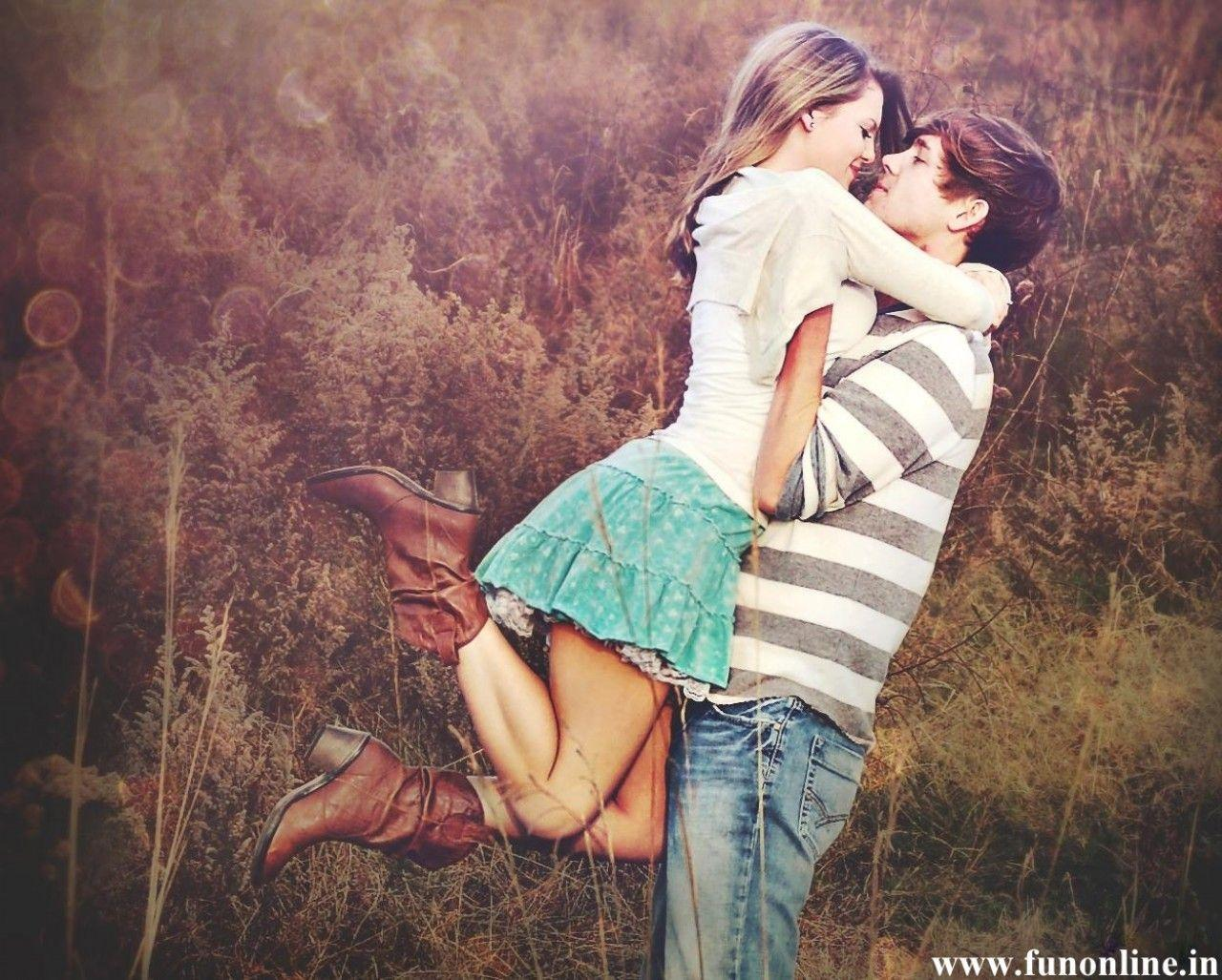 Free Cute Love Couple Hug Wallpaper HD Pictures