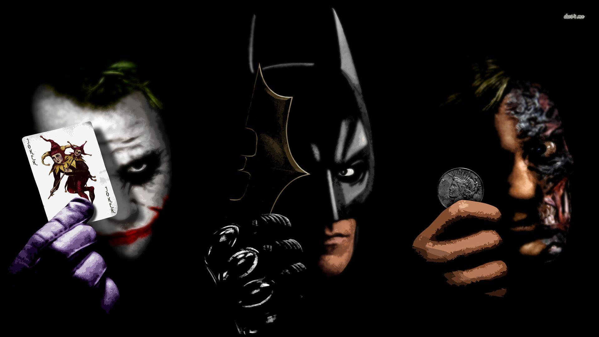 Joker, Batman and Two Face wallpaper - Movie wallpapers - #