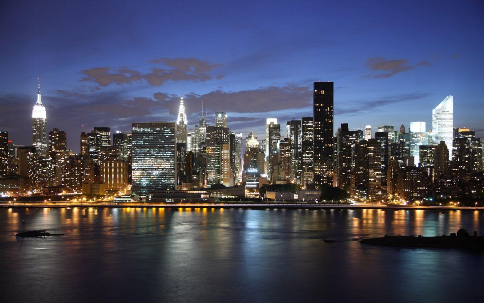 new york skyline wallpapers wallpaper cave. Black Bedroom Furniture Sets. Home Design Ideas