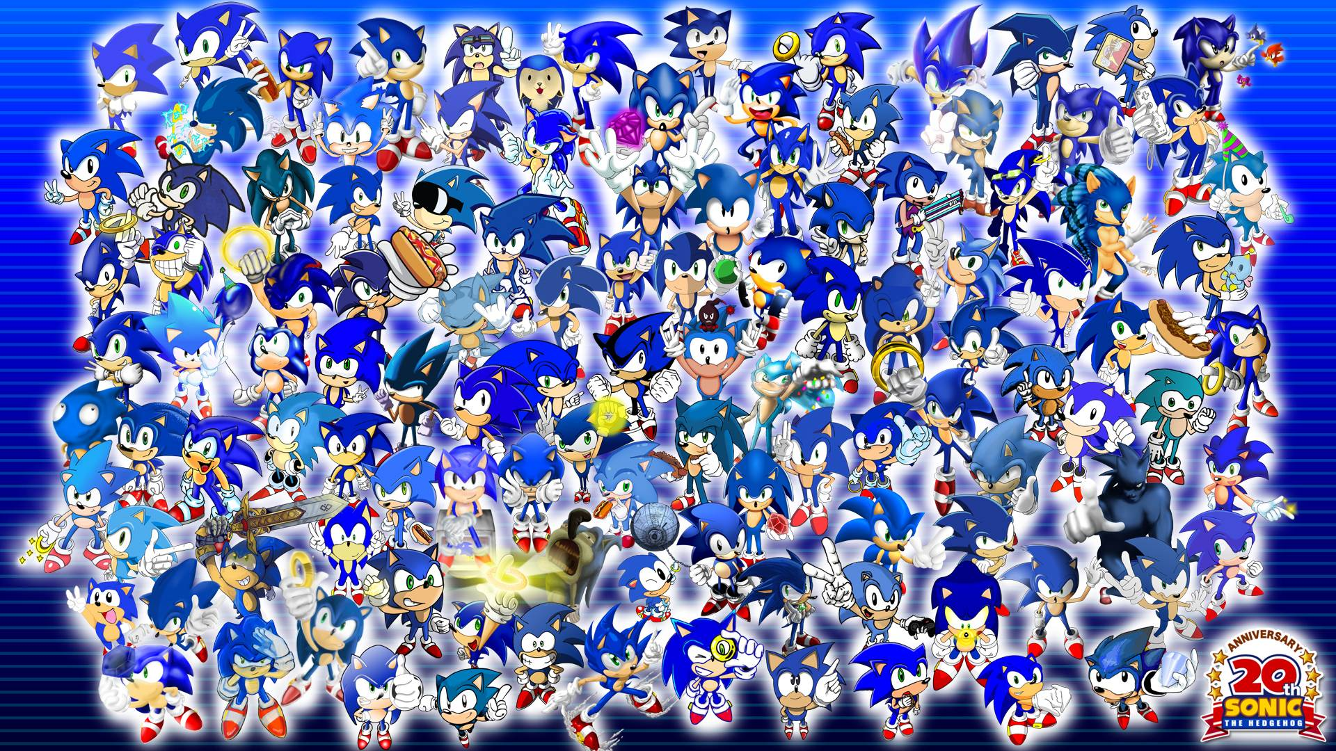 Project 20 Sonic Wallpapers