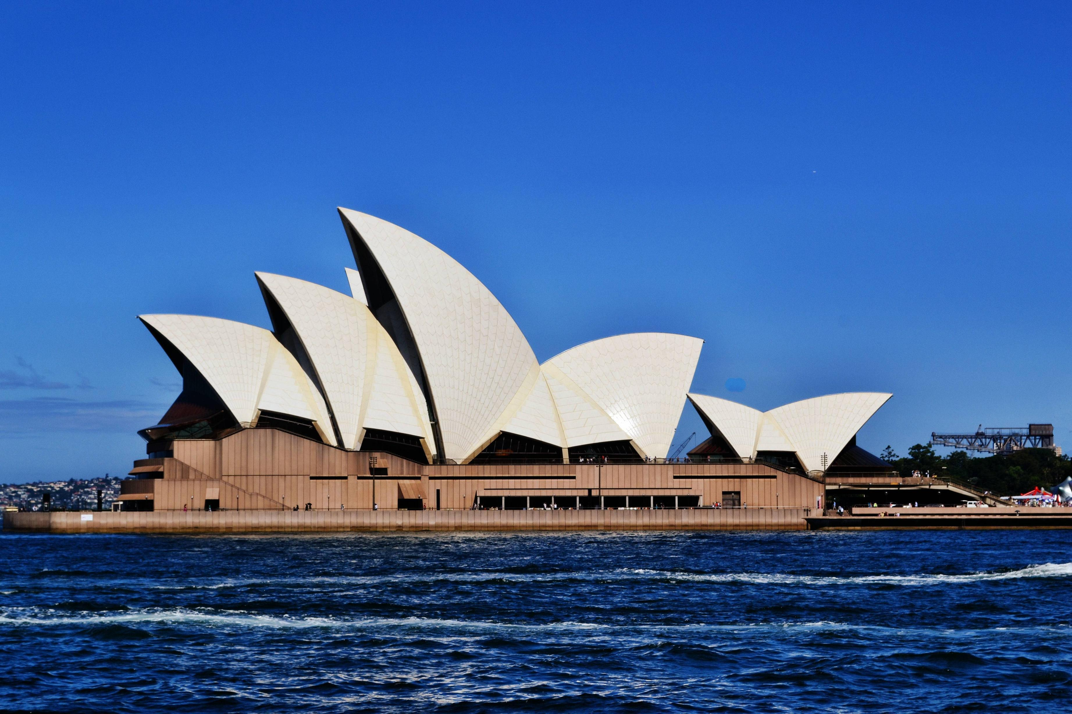 Sydney opera house wallpapers wallpaper cave for Household wallpaper