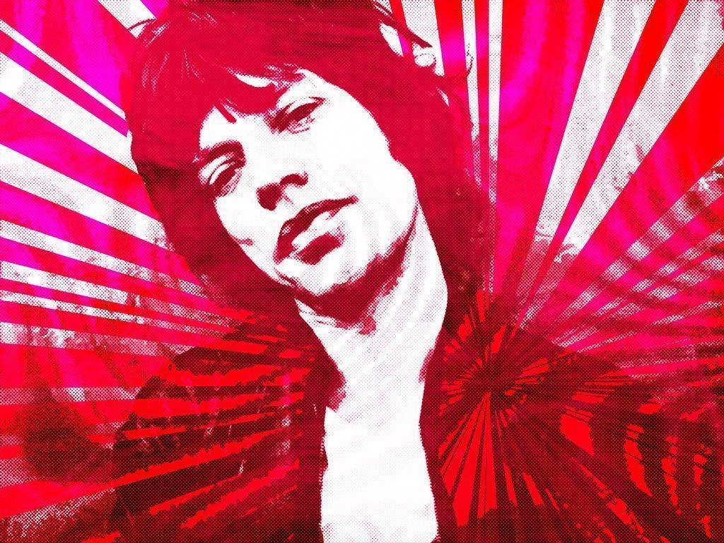 Mick Jagger Pop Graphic by ashleeeyyy on DeviantArt