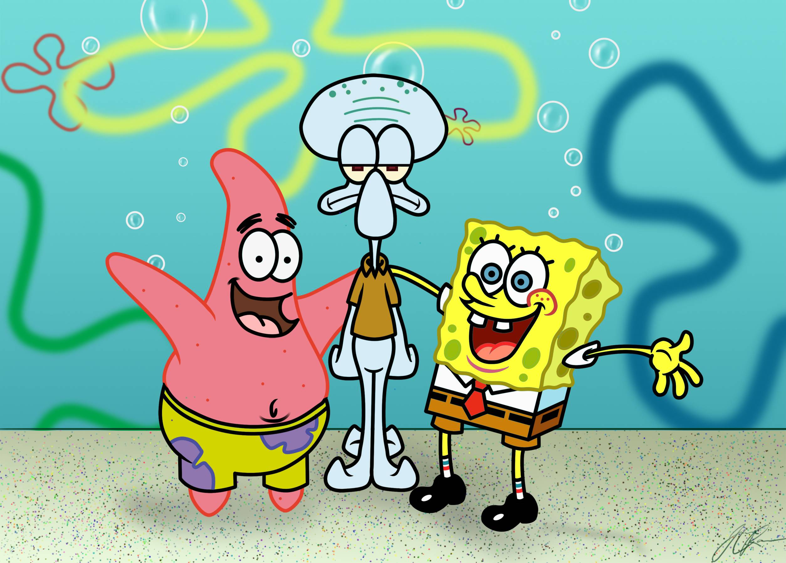 Spongebob Squarepants Wallpapers Wallpaper Cave
