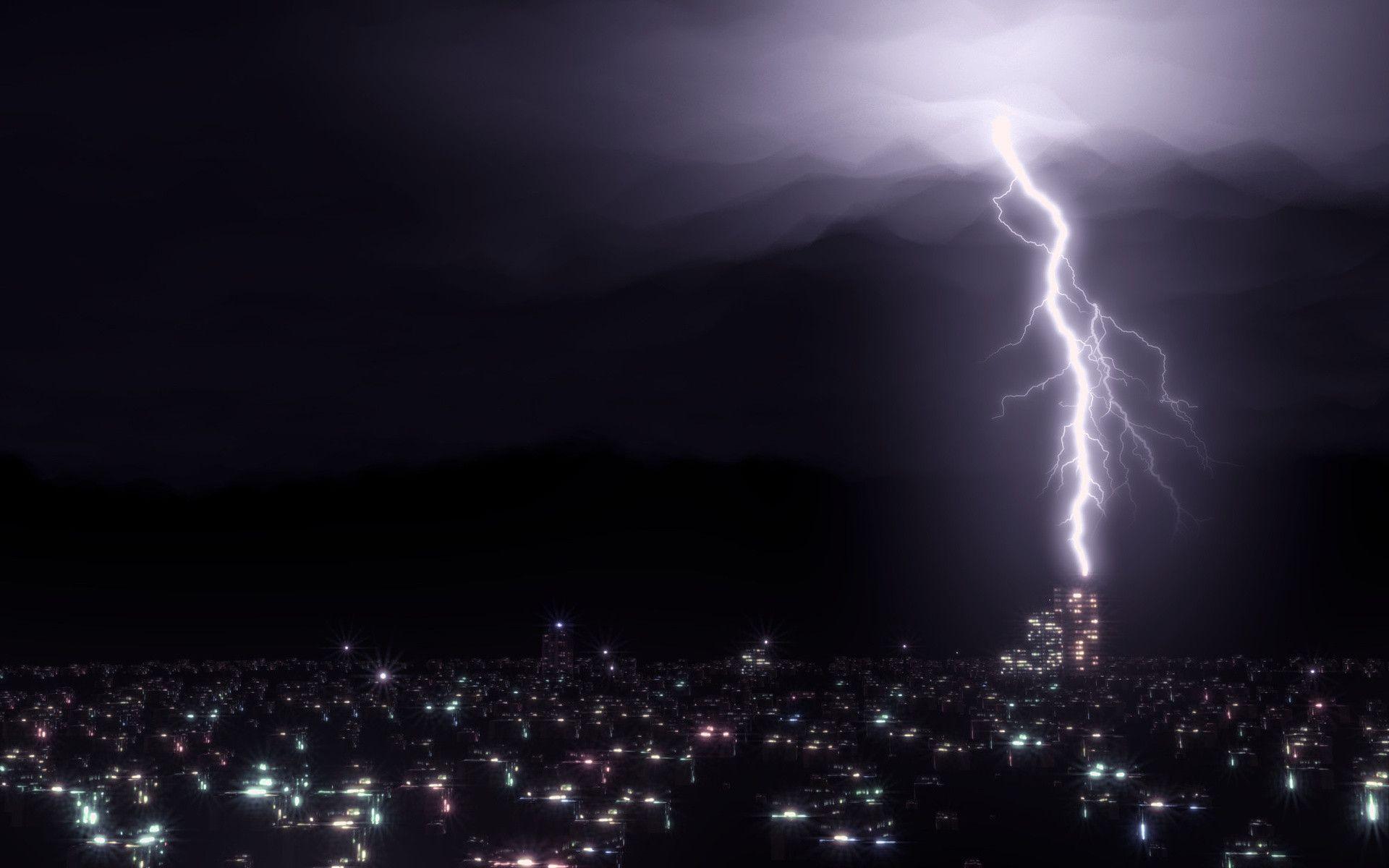 lightning strike wallpaper-#38