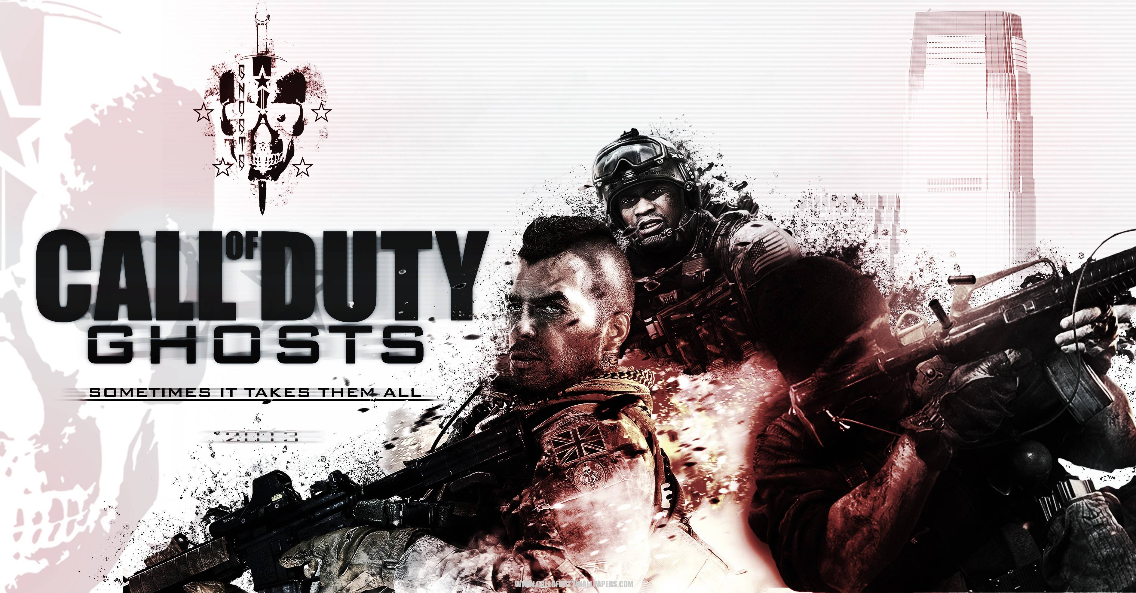 Call Of Duty Ghosts 2013 Wallpaper Wide Or HD