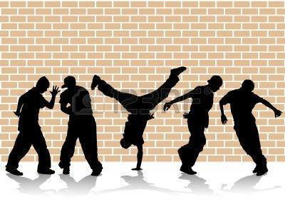 Image For > Hip Hop Dance Silhouette