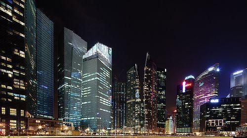 "Singapore Skyline Free 2560x1440 iMac 27"" desktop backgrounds"