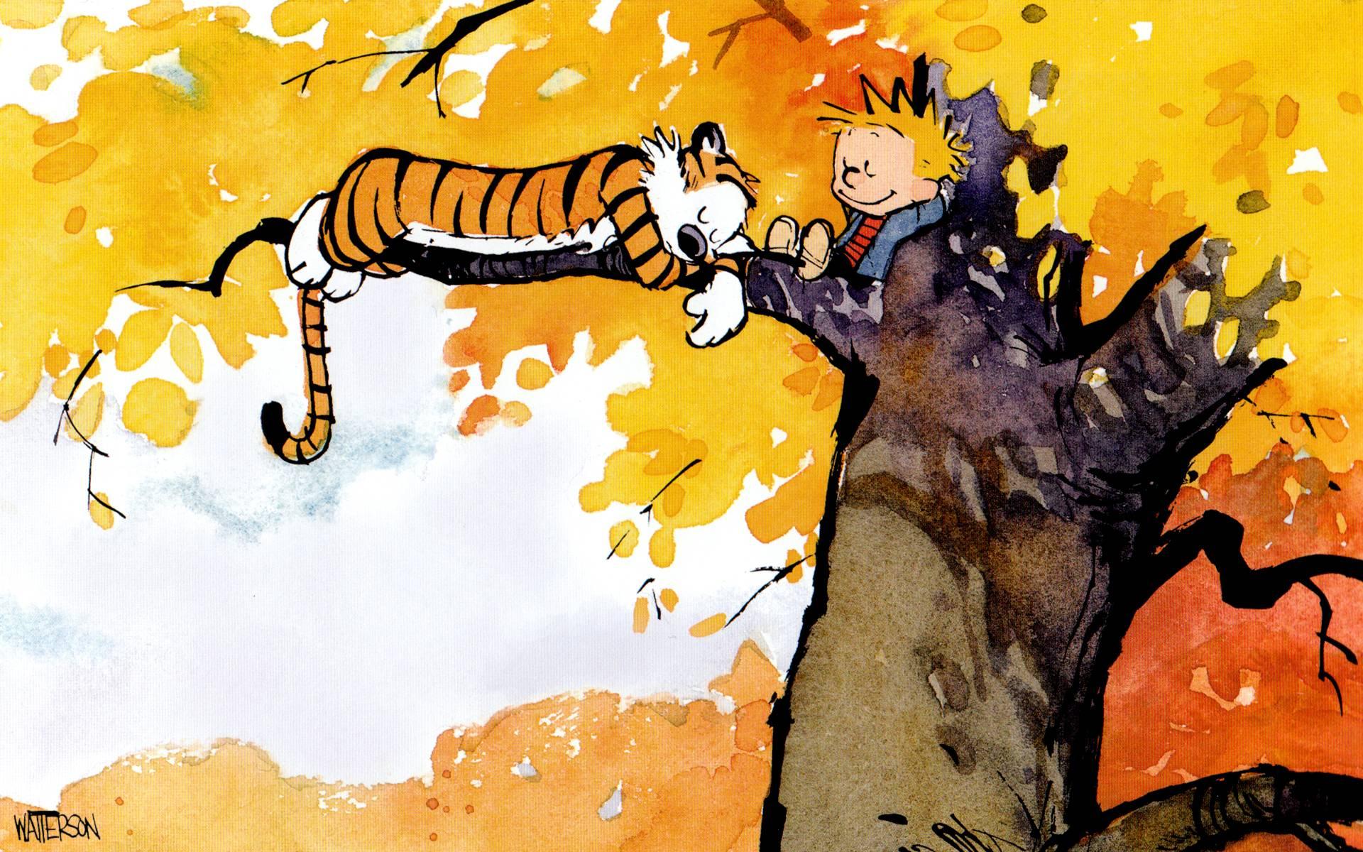 Calvin And Hobbes Desktop Wallpapers Wallpaper Cave