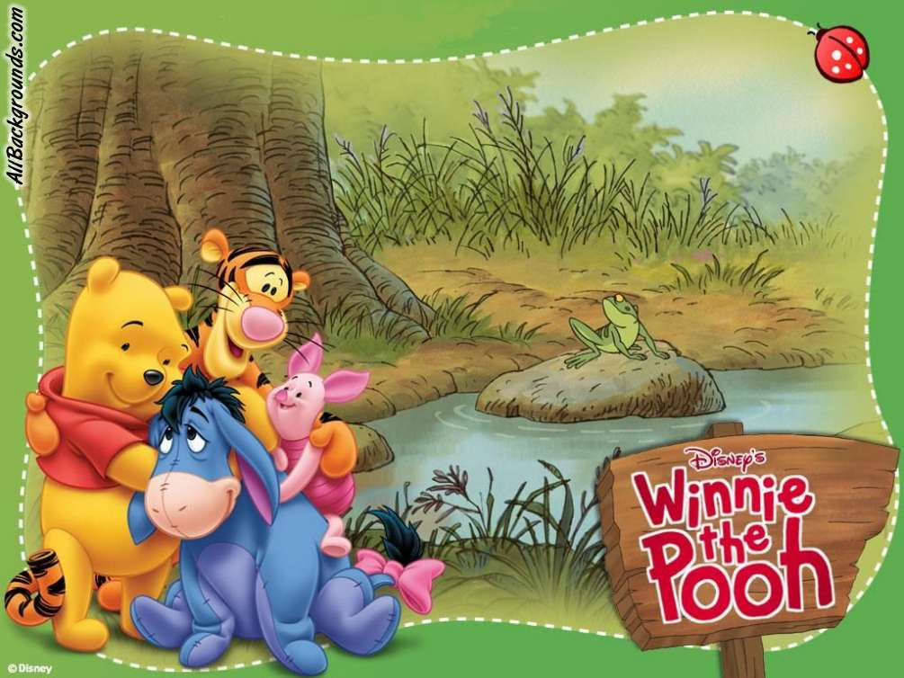 Winnie The Pooh Backgrounds - Twitter & Myspace Backgrounds