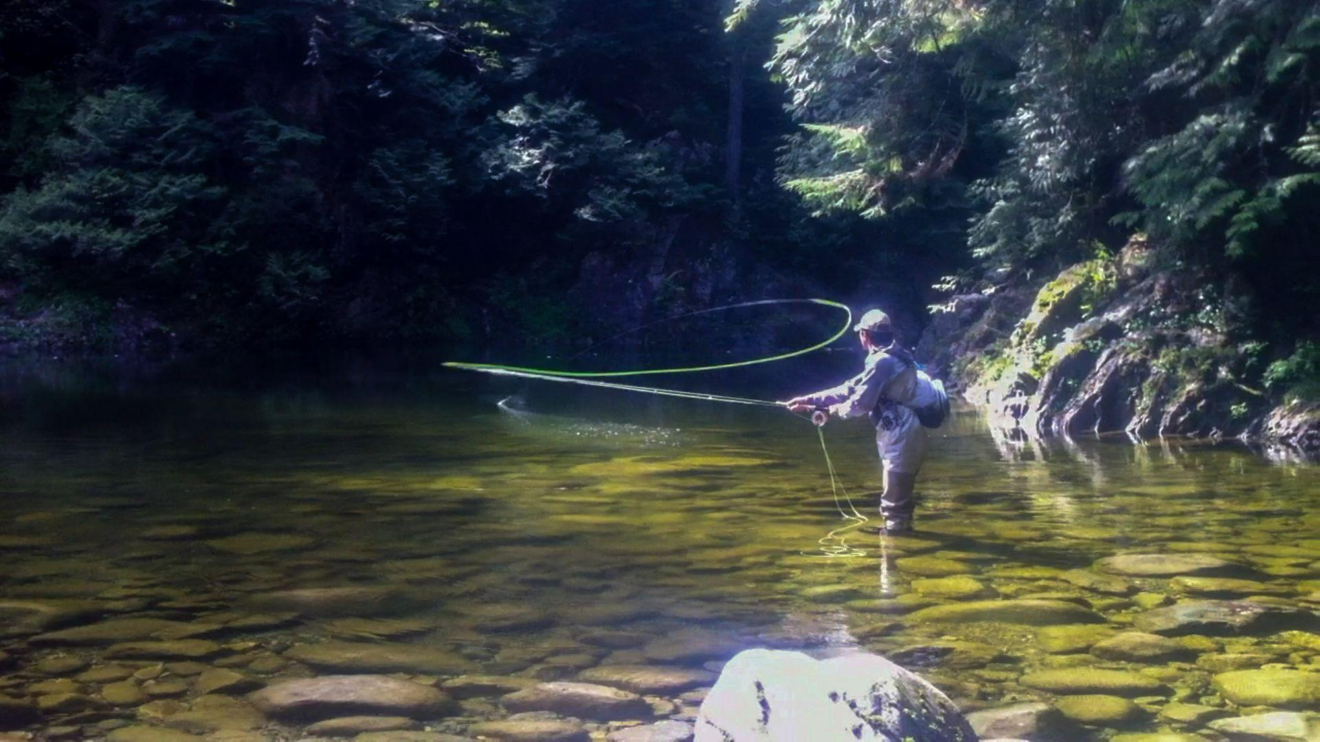Wallpapers For > Fly Fishing River Wallpapers