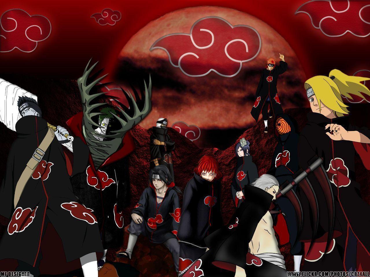 Naruto Akatsuki Wallpapers And Backgrounds 17008 HD Wallpapers ...