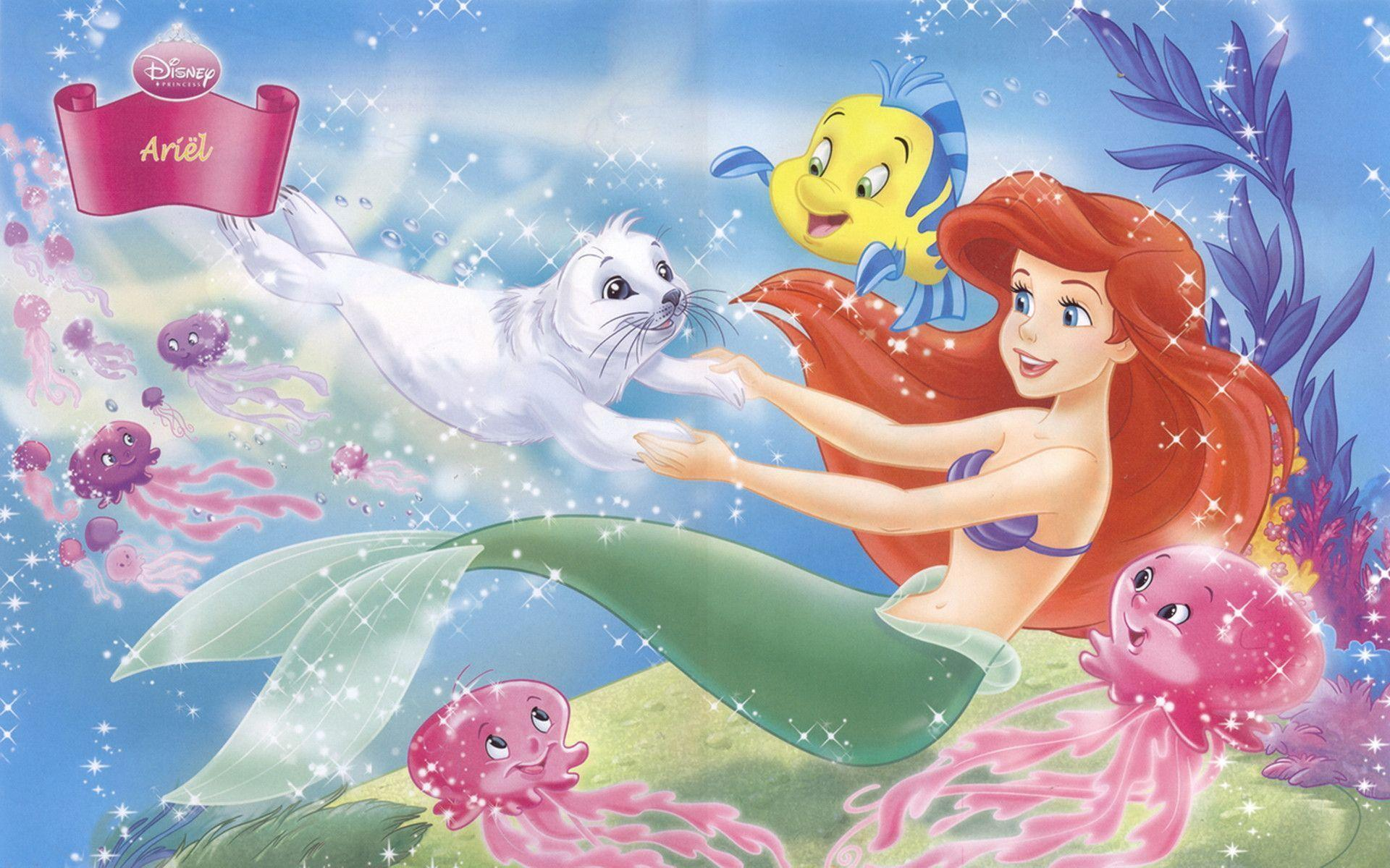 Wallpapers Princess Ariel Wallpaper