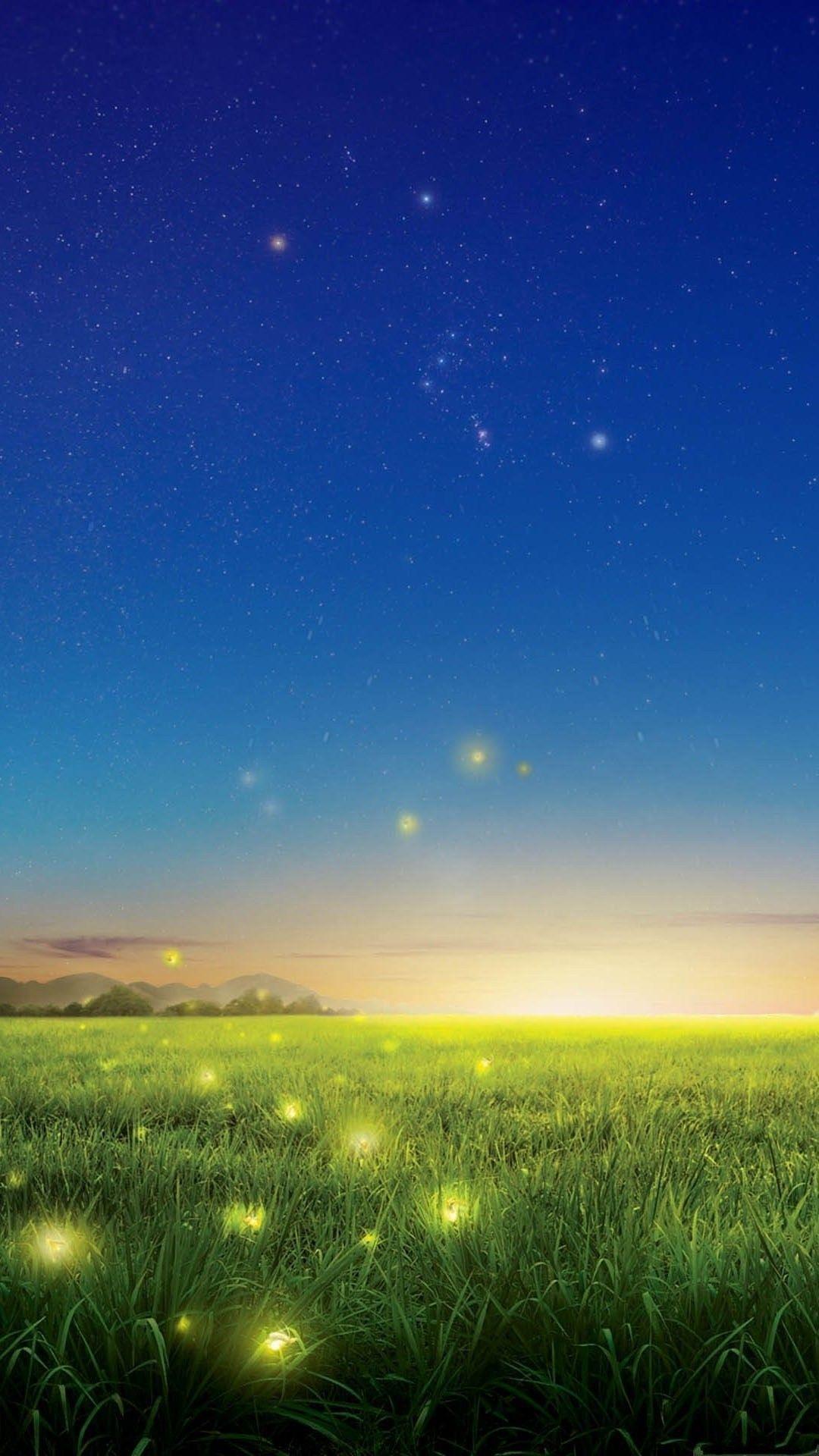 Fireflies Mobile Wallpaper 4552