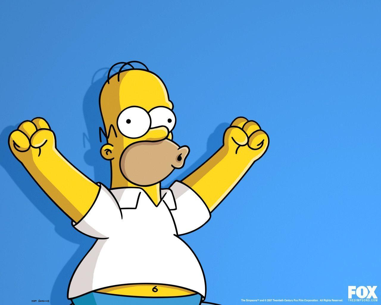 Homer Wallpaper - The Simpsons Wallpaper (29294899) - Fanpop
