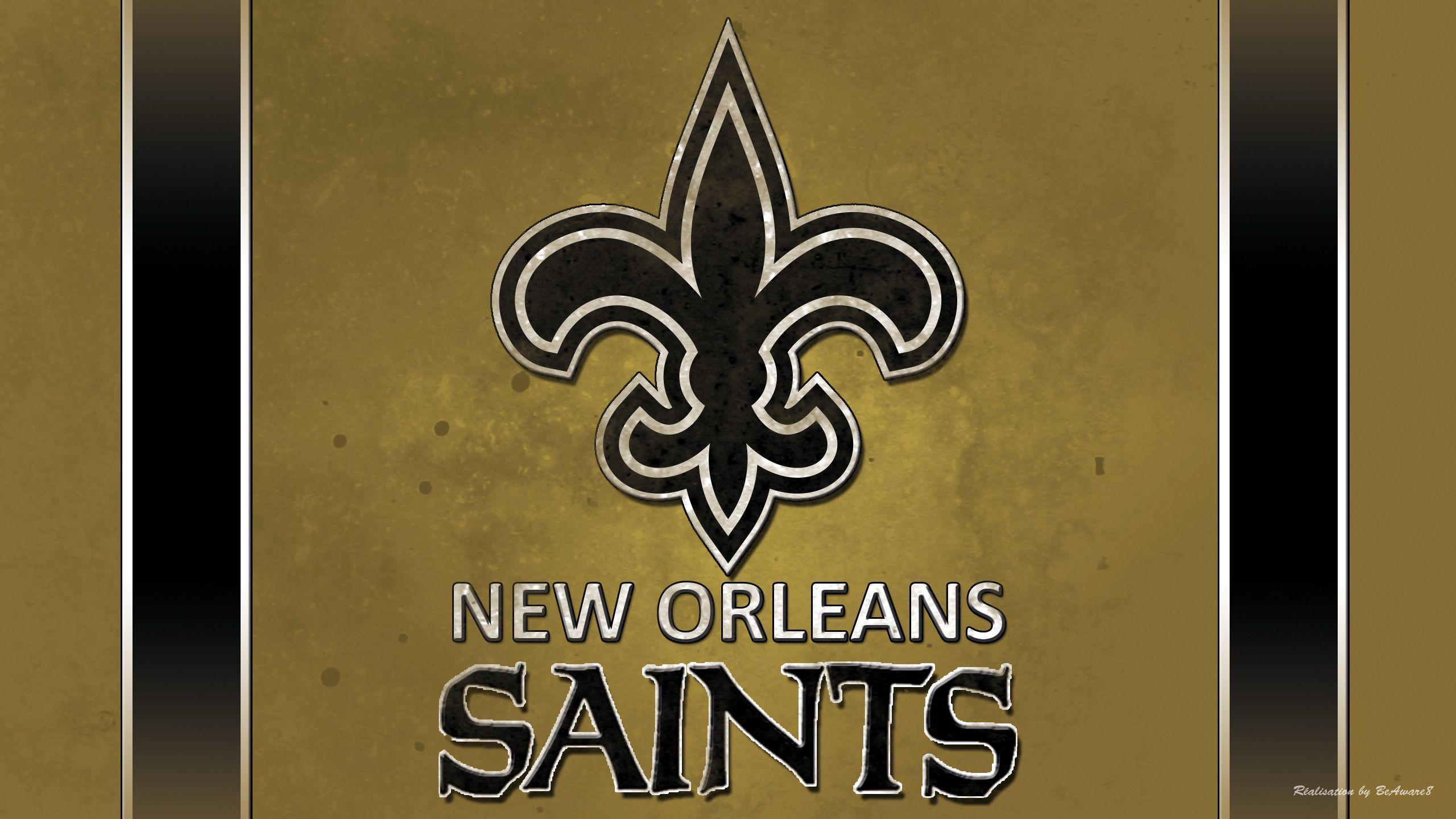 New orleans saints wallpaper logo