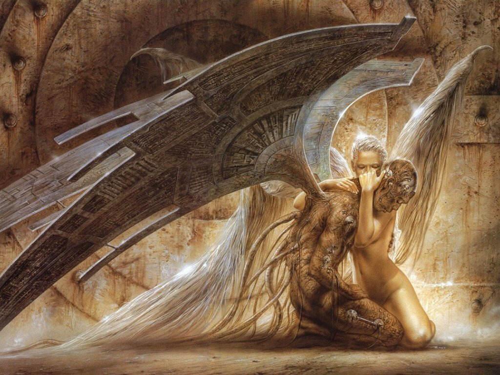 Fallen Angel Wallpapers Wallpaper Cave
