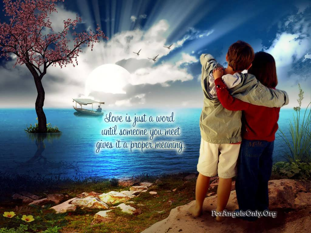 Love You Forever couple Wallpaper : Romantic couple Wallpapers - Wallpaper cave