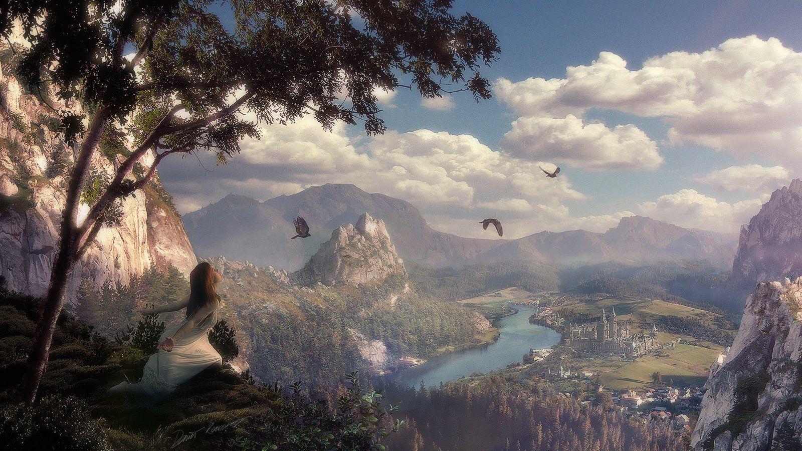 Fantasy Landscape Wallpapers Desktop 13197 Full HD Wallpapers