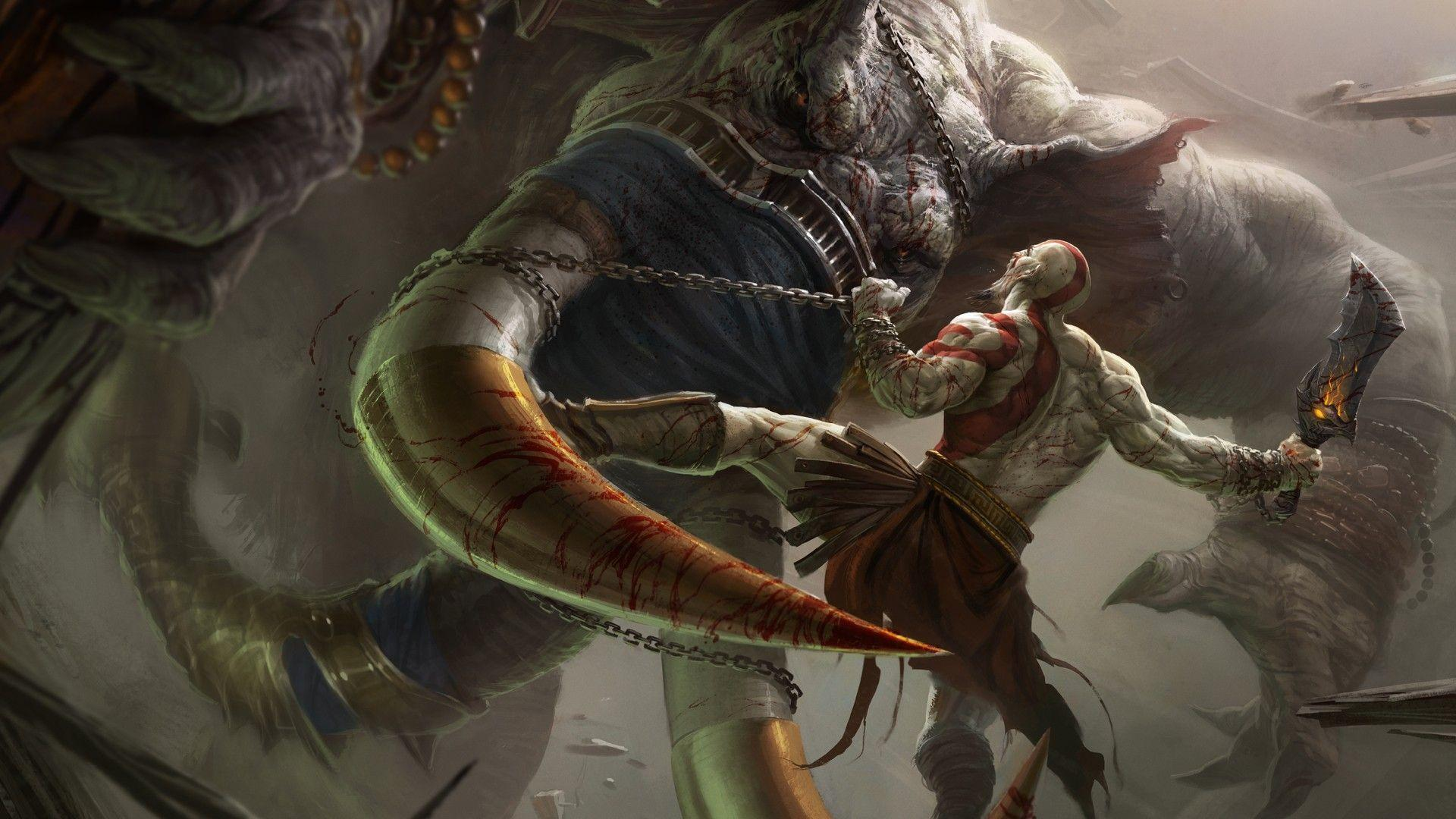 Wallpapers For > God Of War Ascension Ares Wallpapers