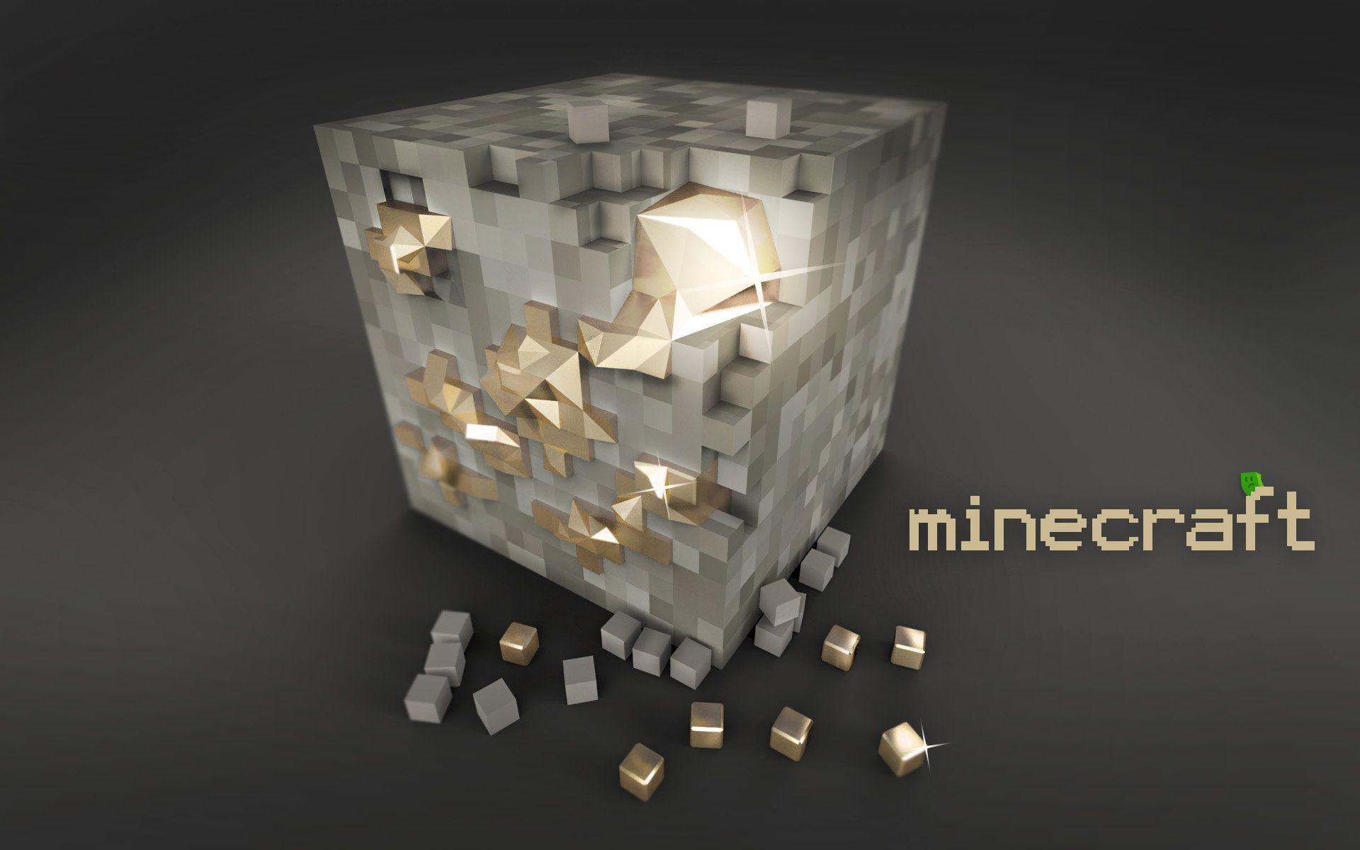 minecraft, gold, wallpaper, paper, pictures, jocuri