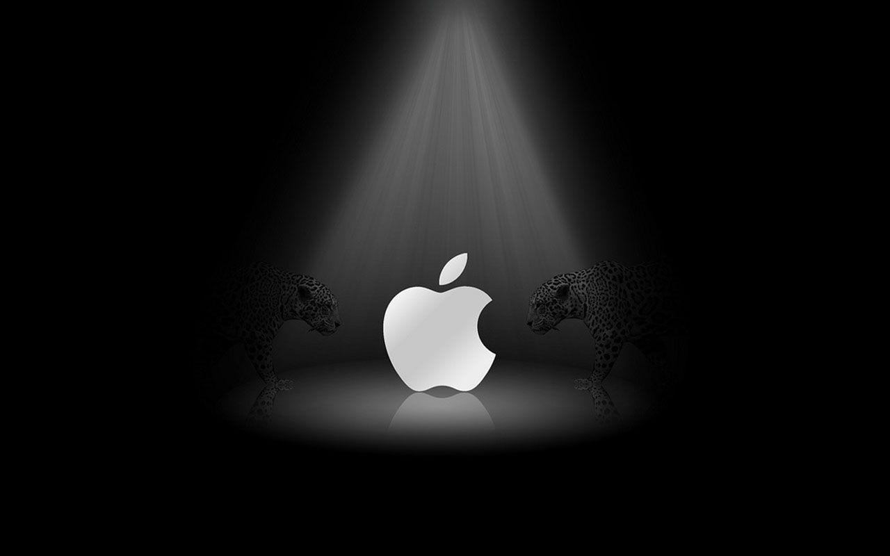 Black And White Apple Wallpapers  Wallpaper Cave