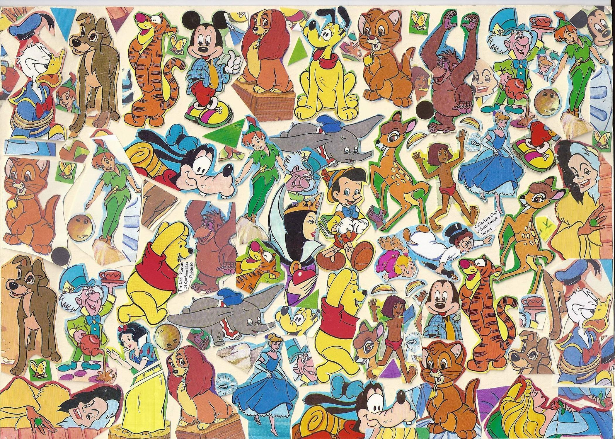 Disney Character Backgrounds - Wallpaper Cave