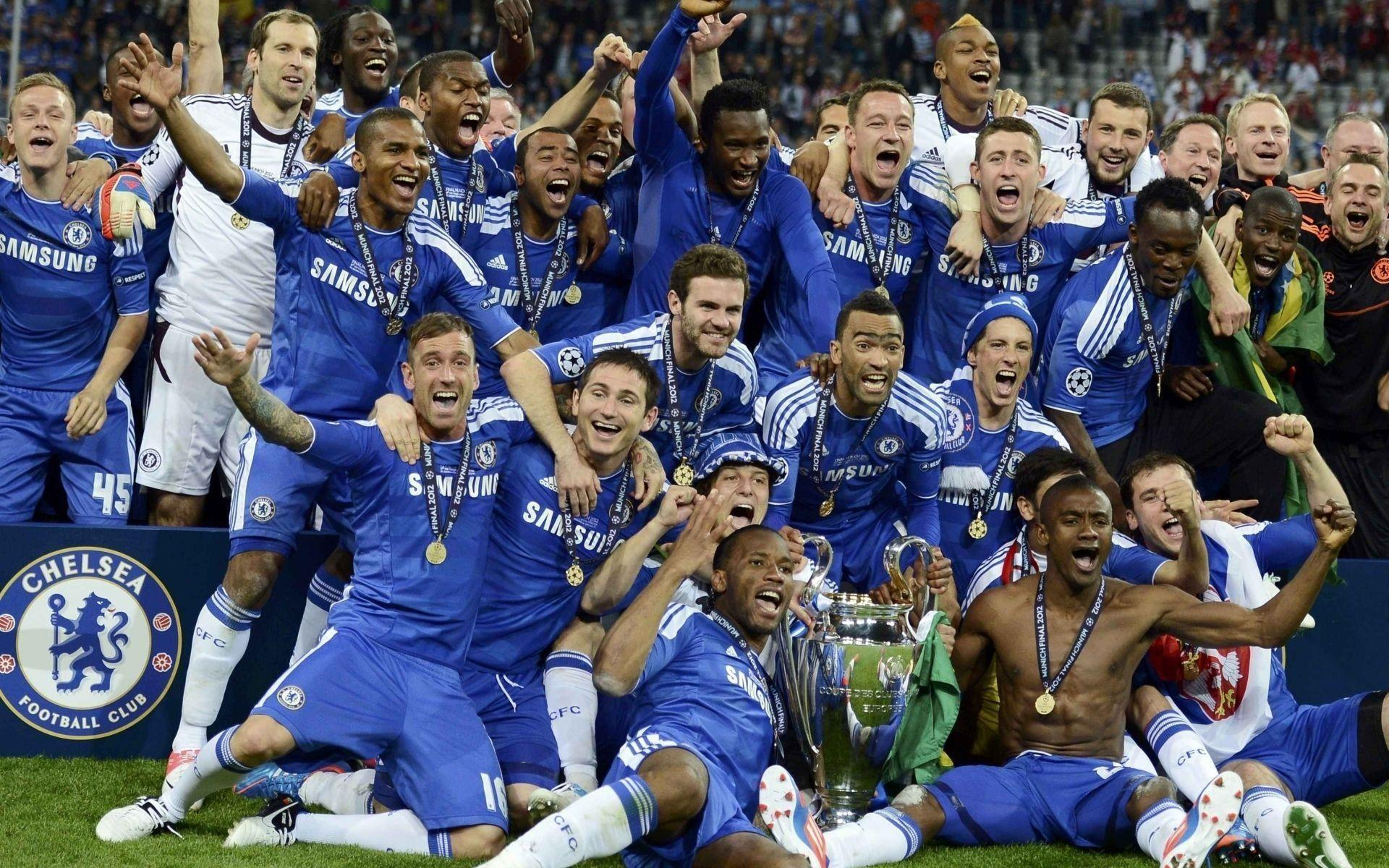 Chelsea FC Champions League Wallpaper | Wallpaper Download