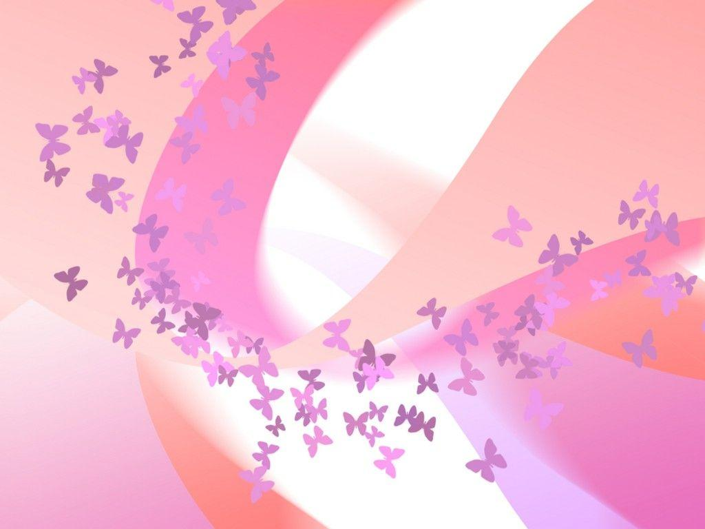 hd cute pink butterfly - photo #29