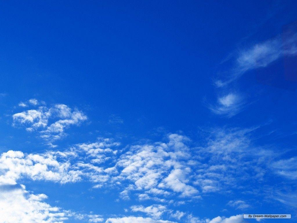 Blue Sky With Clouds Wallpaper 56 Images: Blue Sky Wallpapers