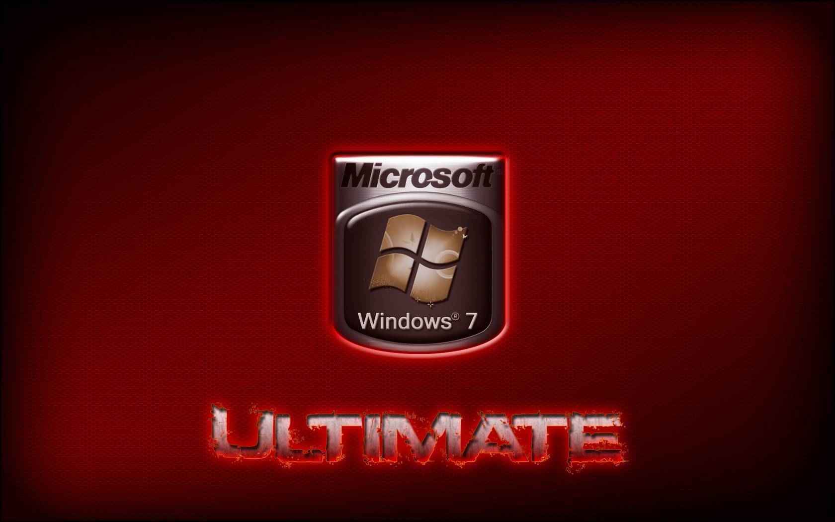 Logo Windows Ultimate Vermelho Microsoft Hd Wallpaper
