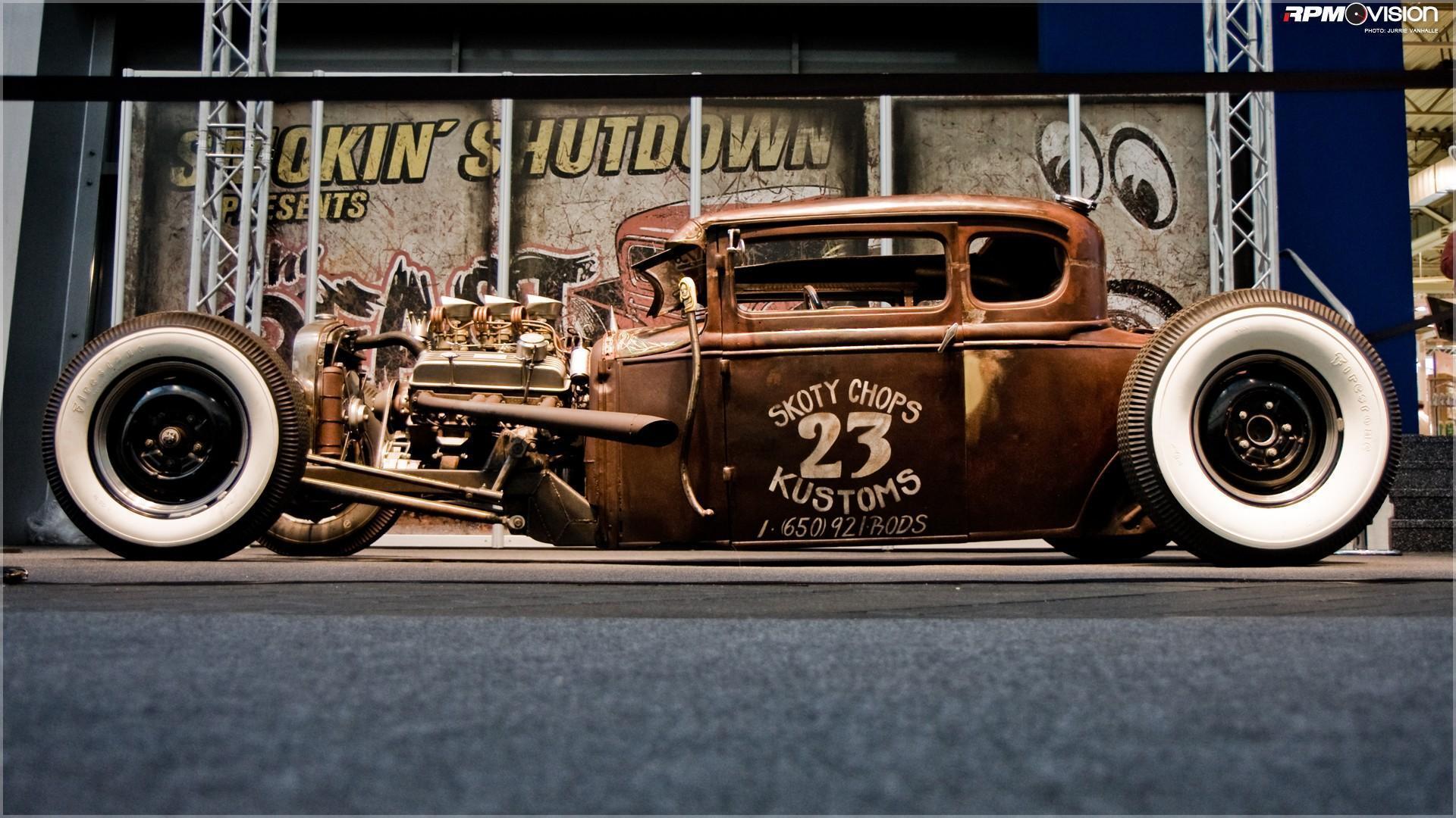 vintage hot rod wallpaper - photo #6
