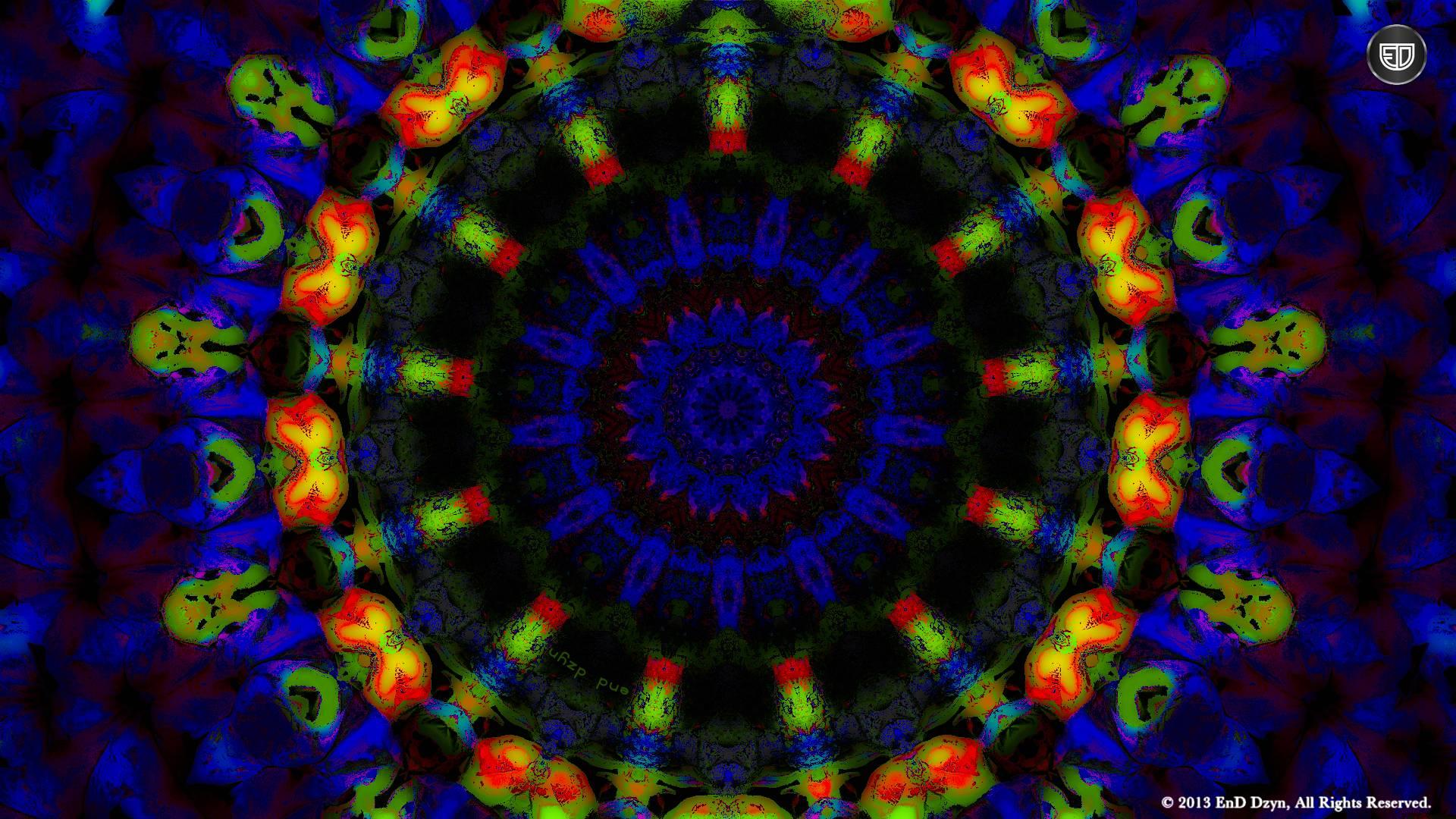 3D Hd Trippy Blue Psychedelic Desktop Wallpapers Photo 62081 Label