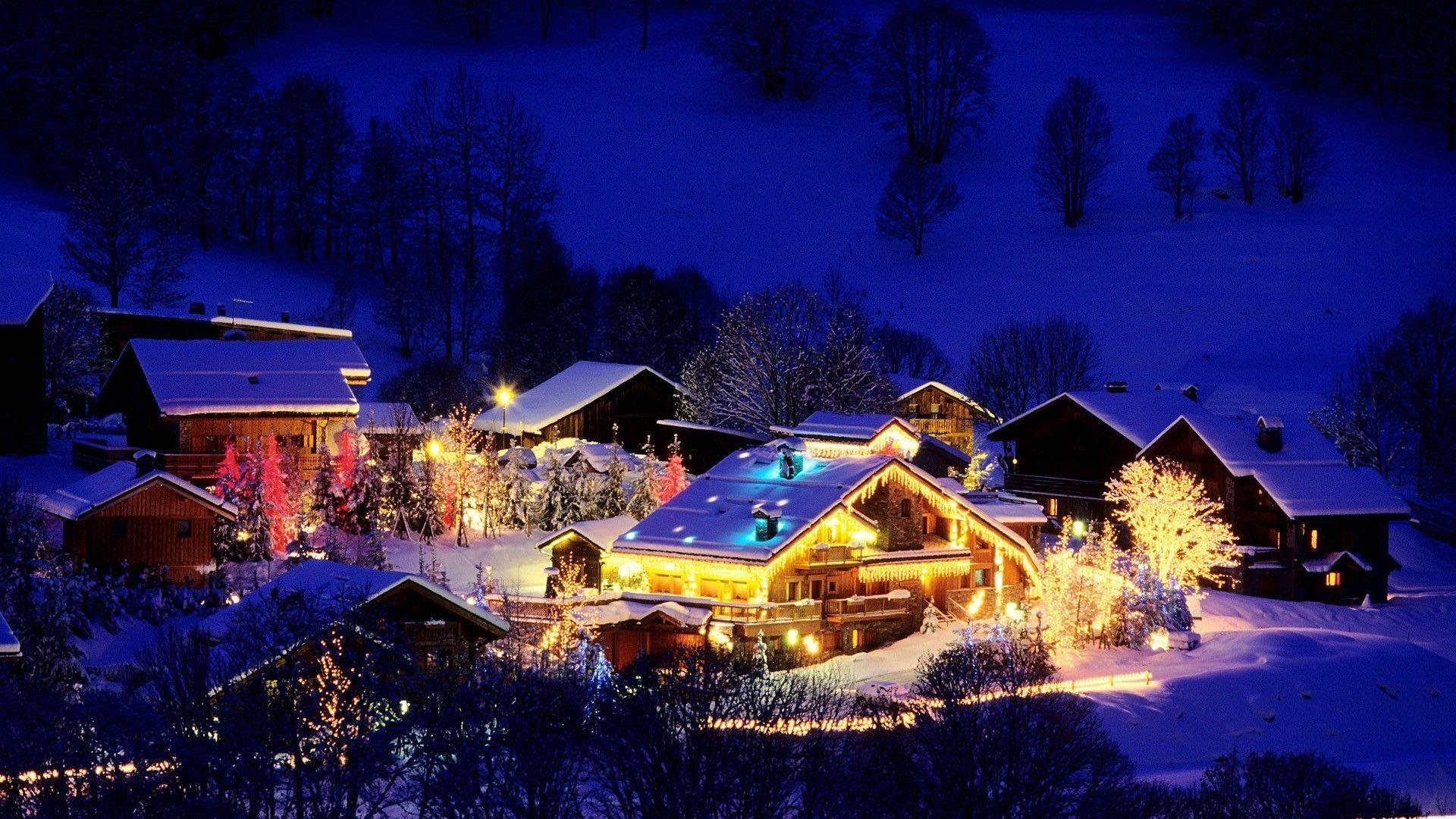 25 Beautiful Winter and Christmas Wallpapers For Desktops
