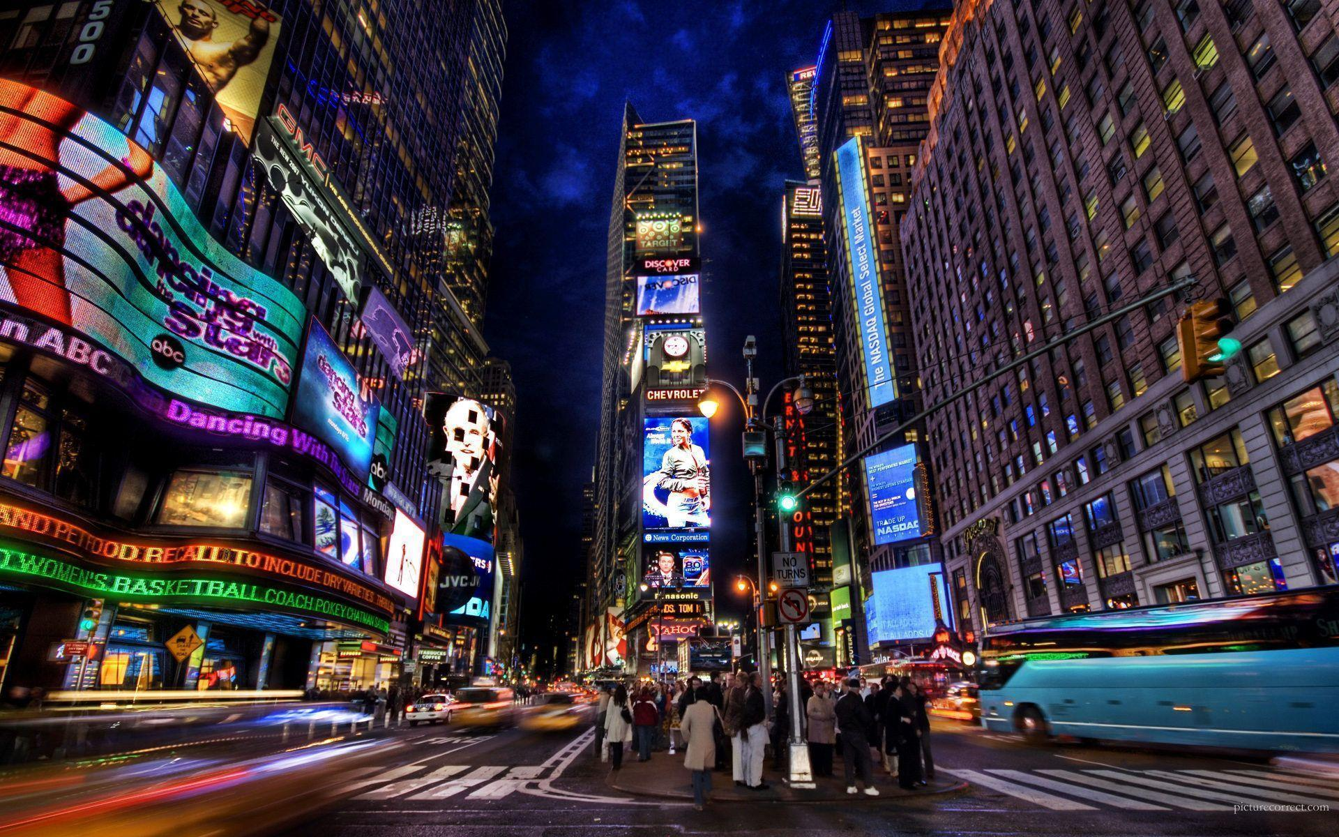 Times Square HD Wallpapers