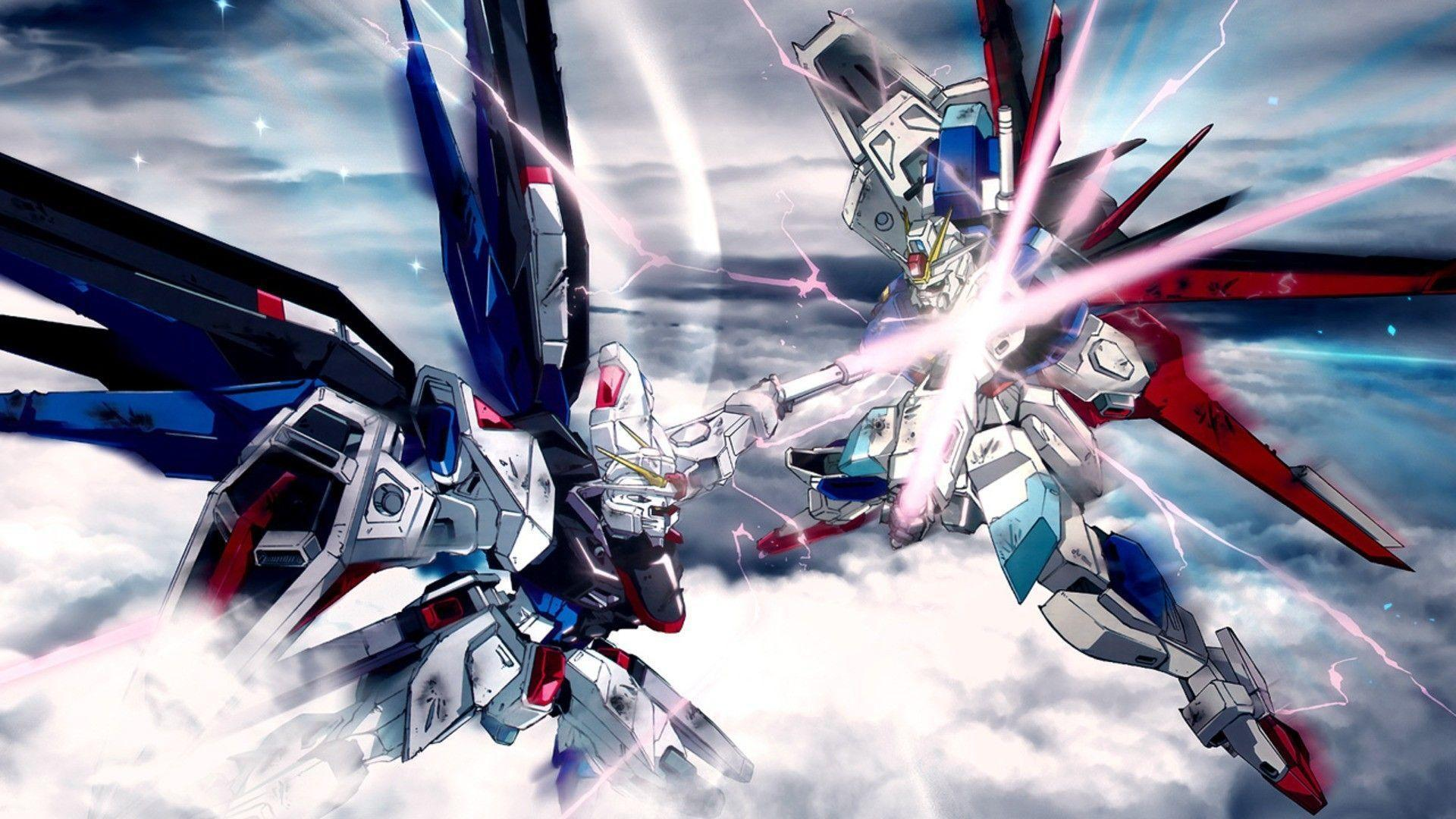 Gundam Seed Mobile Suits Gundam SEED Destiny Wa...