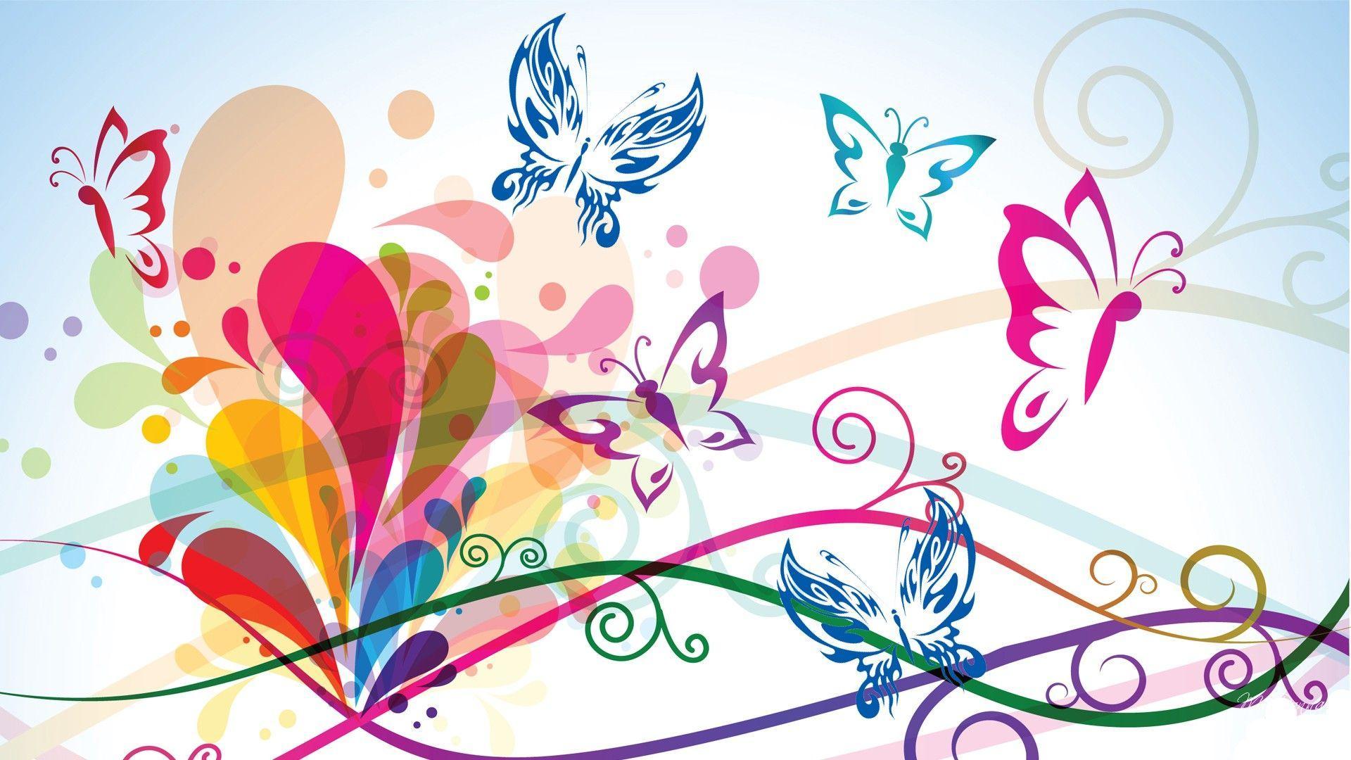 HD Loving Butterflies Wallpaper Download Free / Wallpaper ...