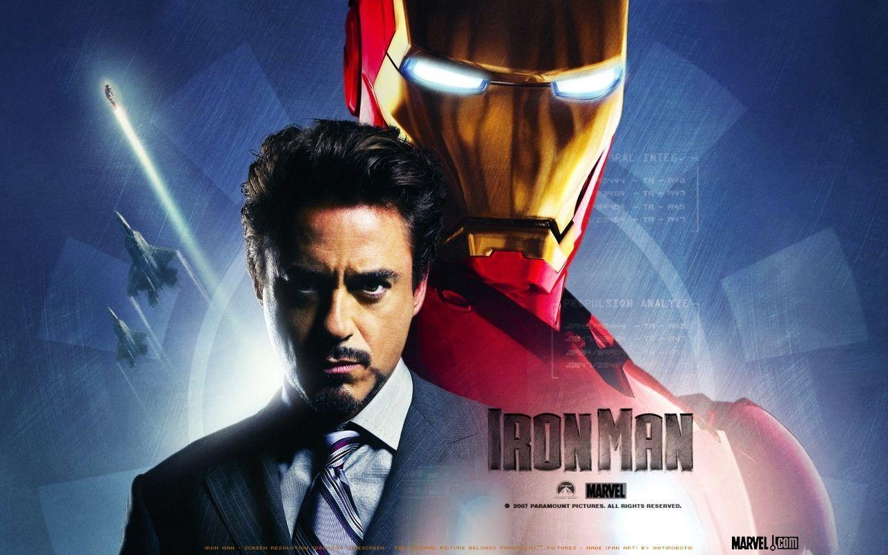 Robert Downey Jr Iron Man Wallpaper - Celebrities Powericare.
