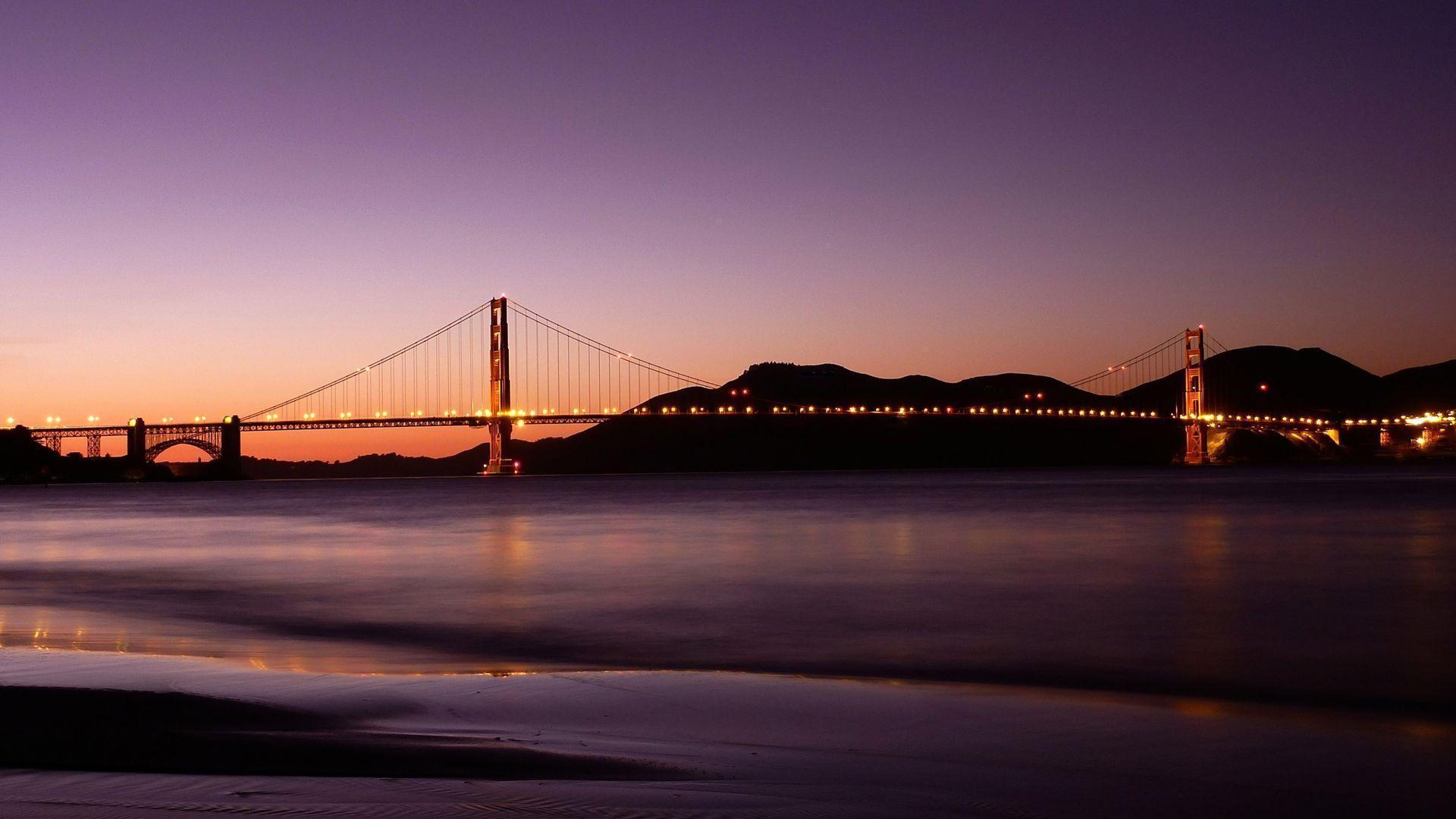 Golden Gate Bridge Wallpaper Hd wallpaper - 1129007