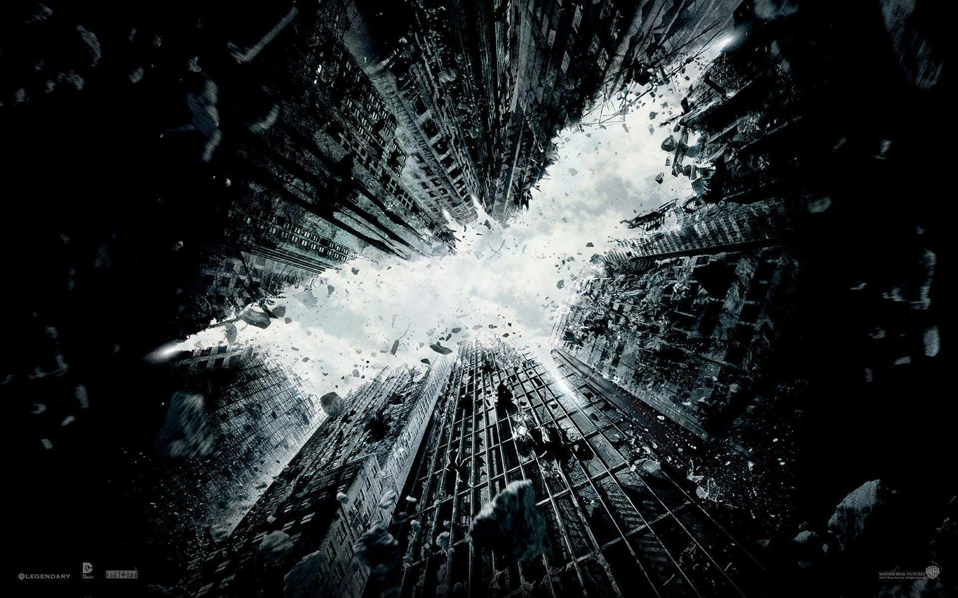 The Dark Knight Rises&Wallpapers: Decorate Your Desktop, Batman Style