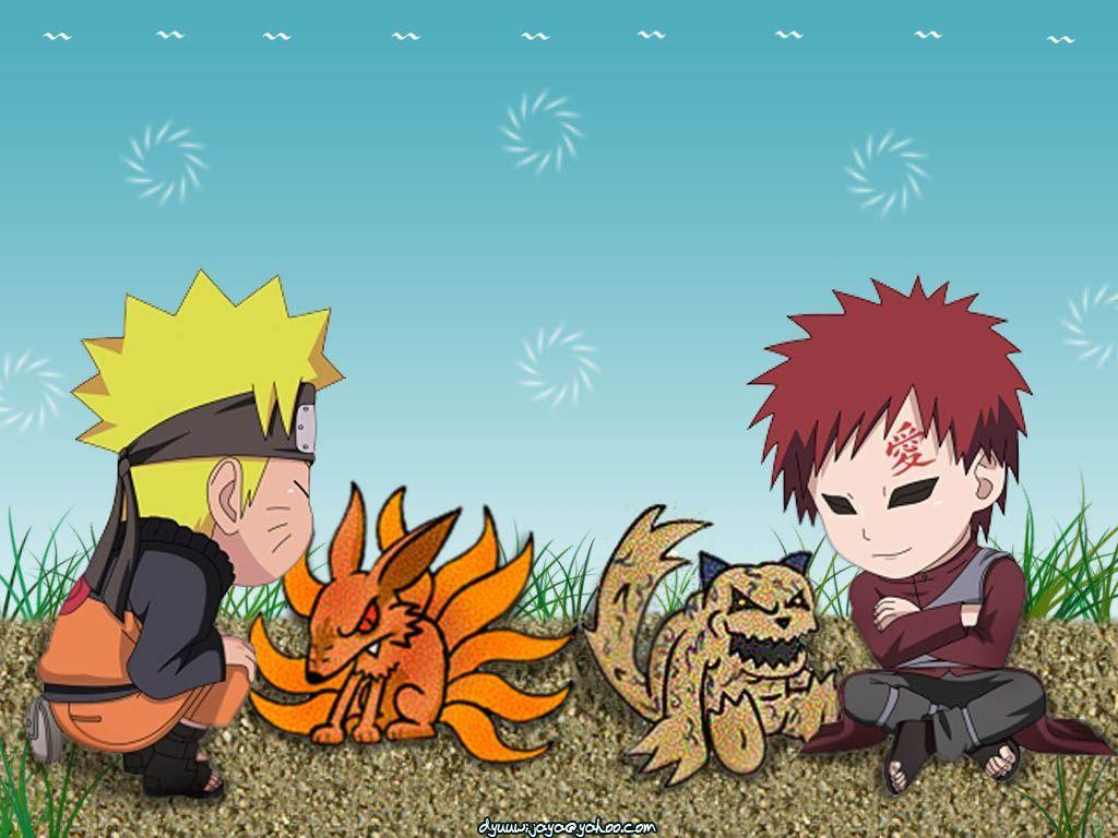 naruto and gaara wallpaper - photo #32