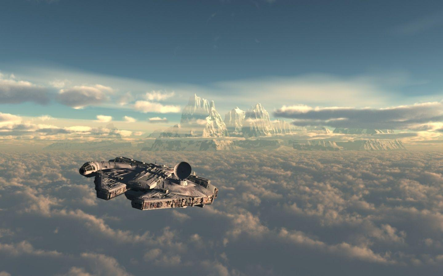 Pix For > Millenium Falcon Hyperdrive Wallpapers