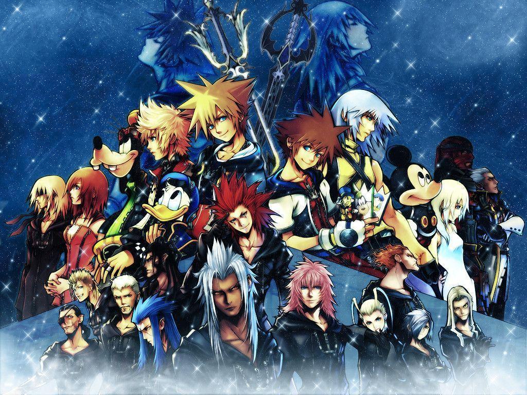 Kingdom Hearts 2 Final Mix Wallpapers Wallpaper Cave