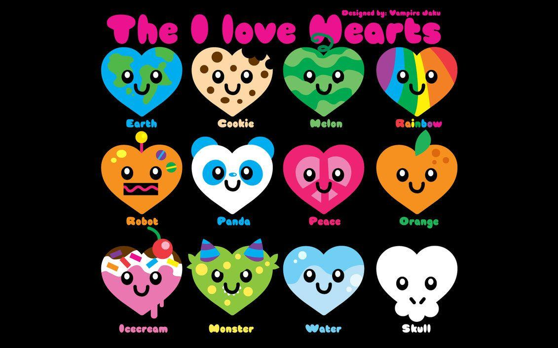 pictures of love hearts wallpapers wallpaper cave