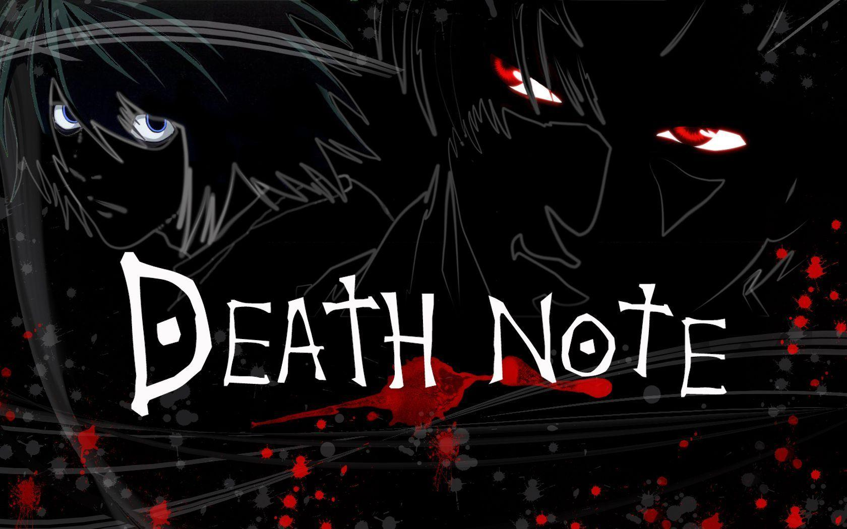 Death Note - Death Note Wallpaper (16487779) - Fanpop
