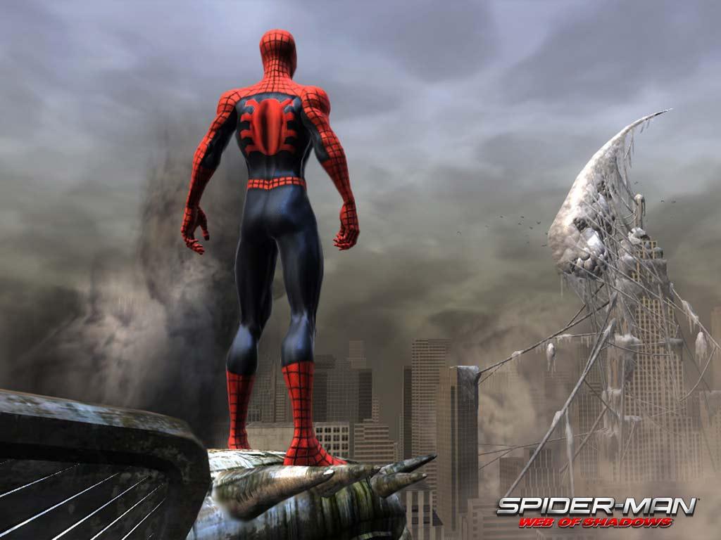 Hd wallpaper spiderman - Free Download Spiderman Wallpaper 1024x768 3 629 Full Size