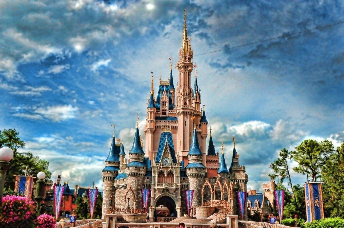 Disney Desktop Wallpaper Hd: Disney Castle Backgrounds