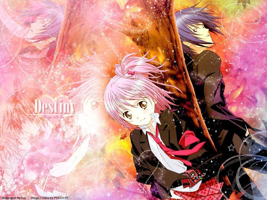 anime love fondos: Shugo Chara Wallpapers