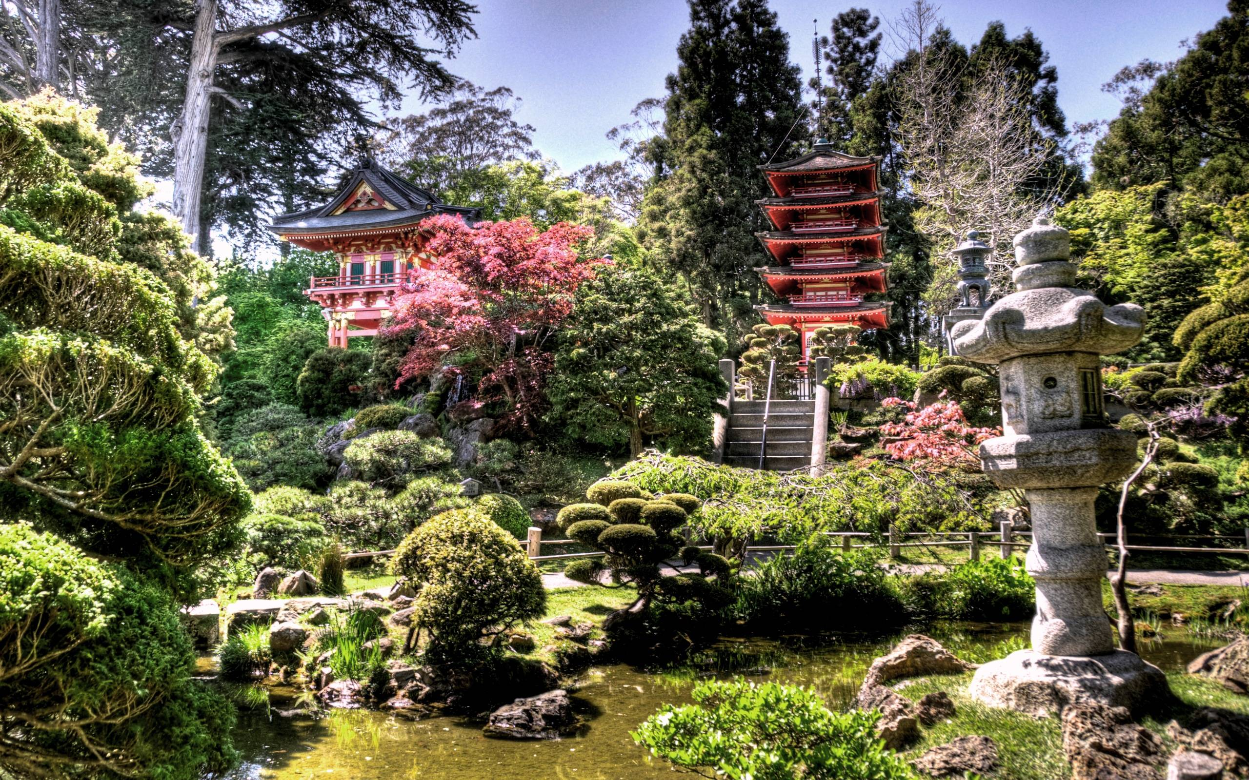 Japanese Tea Garden desktop wallpapers