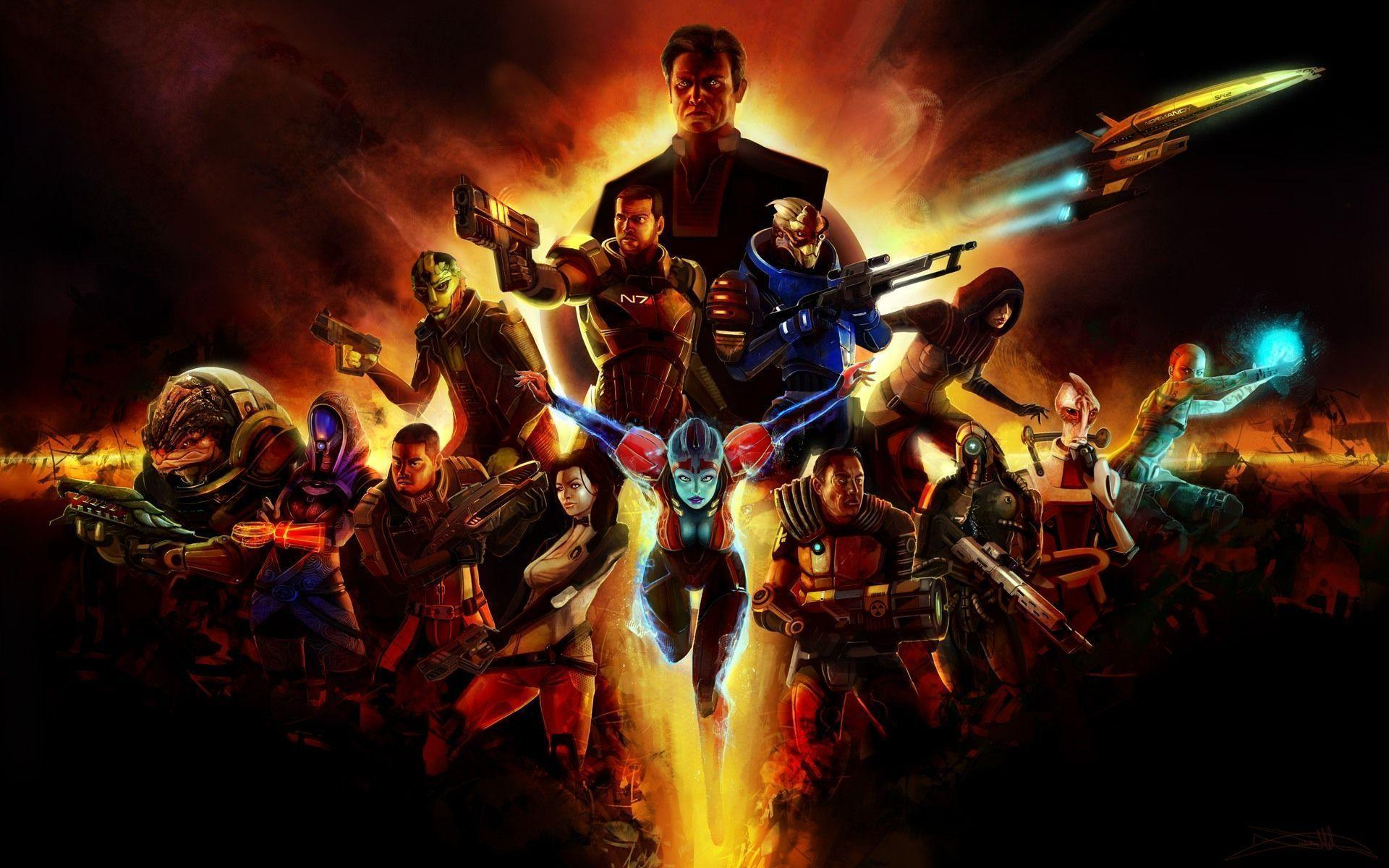 Mass Effect 2 Wallpapers For Android Wallpapers