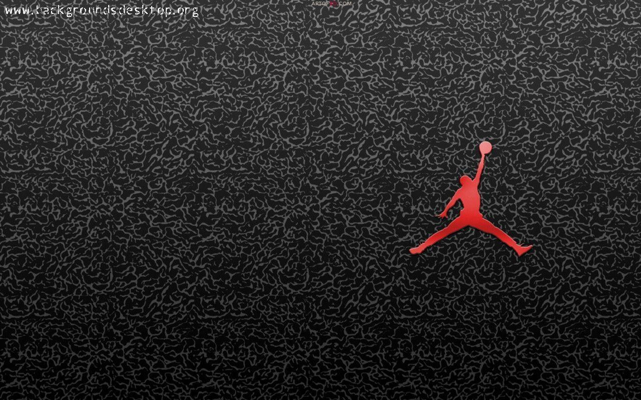 michael jordan logo wallpapers wallpaper cave